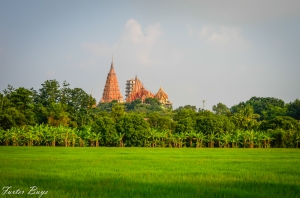 Temple on hill