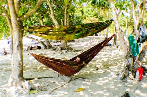 Bunk-hammocks, ultimate luxury!