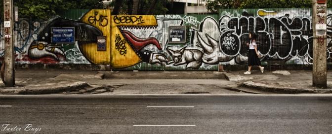 The Writing's on the Wall (Bangkok's Beautiful Graffiti)