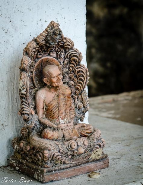 monk statuette