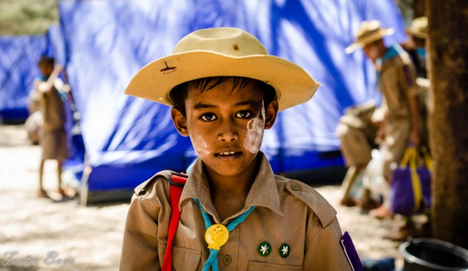 A Scout Camp – Capturing Innocence