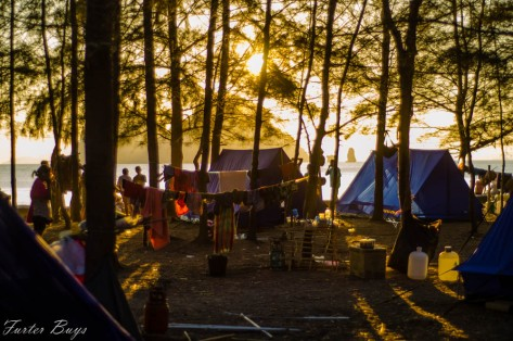 Our camp...